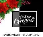 vector illustration of greeting ... | Shutterstock .eps vector #1190843347