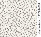 seamless irregular lines vector ... | Shutterstock .eps vector #1190844334