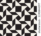 vector seamless pattern. modern ... | Shutterstock .eps vector #1190844397