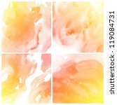set of abstract colorful water...   Shutterstock . vector #119084731