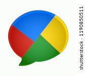 google message icon. buzz app....