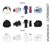 vector design of dreams and... | Shutterstock .eps vector #1190868607