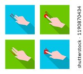 vector illustration of... | Shutterstock .eps vector #1190870434