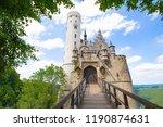 lichtenstein castle   gothic... | Shutterstock . vector #1190874631