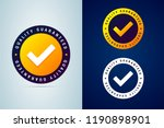 quality guaranteed   tested... | Shutterstock .eps vector #1190898901
