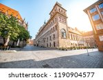 morning view on the old town... | Shutterstock . vector #1190904577