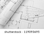 interior and architectural... | Shutterstock . vector #119093695