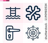 contains such icons as bones ... | Shutterstock .eps vector #1190983534