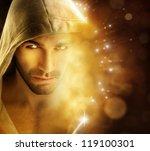 fantastical portrait of a... | Shutterstock . vector #119100301