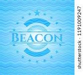 beacon water wave badge... | Shutterstock .eps vector #1191009247