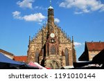 beautiful view of historical... | Shutterstock . vector #1191010144