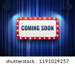 coming soon background. special ... | Shutterstock .eps vector #1191029257