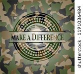 make a difference on... | Shutterstock .eps vector #1191036484