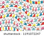 geometric pattern with hand... | Shutterstock . vector #1191072247