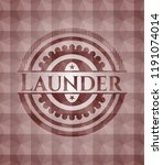 launder red seamless emblem... | Shutterstock .eps vector #1191074014