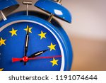alarm clock with the colors of... | Shutterstock . vector #1191074644