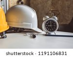 close up of clock and... | Shutterstock . vector #1191106831