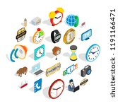 time period icons set.... | Shutterstock .eps vector #1191166471