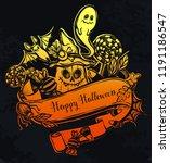 vector illustration  happy...   Shutterstock .eps vector #1191186547