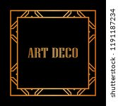 vintage retro style invitation... | Shutterstock .eps vector #1191187234