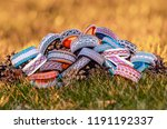 sami tin wired bracelet  ... | Shutterstock . vector #1191192337