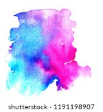 colorful abstract watercolor... | Shutterstock .eps vector #1191198907