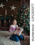beautiful teenager girl on...   Shutterstock . vector #1191203377
