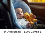 portrait of cute toddler boy... | Shutterstock . vector #1191239551