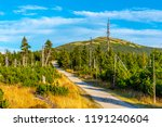 tourist road in the middle of... | Shutterstock . vector #1191240604