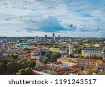 cathedral square and financial... | Shutterstock . vector #1191243517