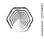 white background. tunnel... | Shutterstock .eps vector #1191268327