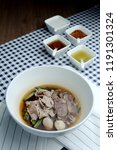 thai traditional stewed pork... | Shutterstock . vector #1191301324