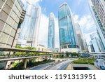 beautiful architecture office... | Shutterstock . vector #1191313951