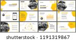 presentation and slide layout... | Shutterstock .eps vector #1191319867
