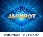 vector illustration. jackpot in ...   Shutterstock .eps vector #1191435454