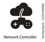 icon of controller connected... | Shutterstock .eps vector #1191436081