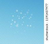 sparse snowfall christmas... | Shutterstock .eps vector #1191437977
