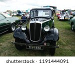 vintage car show outdoor at... | Shutterstock . vector #1191444091