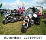 luxury motorbike show outdoor... | Shutterstock . vector #1191444094