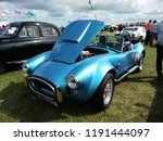 vintage car show outdoor at... | Shutterstock . vector #1191444097