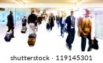 a large group of people.... | Shutterstock . vector #119145301