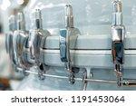 the power belt of a powerful... | Shutterstock . vector #1191453064