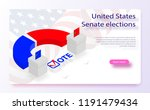 2018 united states elections.... | Shutterstock .eps vector #1191479434