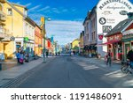 tromso  norway  september 06 ... | Shutterstock . vector #1191486091