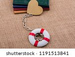 little books attached to a life ... | Shutterstock . vector #1191513841