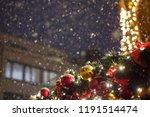beautiful illumination at the... | Shutterstock . vector #1191514474