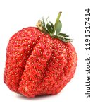 strawberry isolated on white... | Shutterstock . vector #1191517414