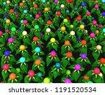 plant leaf green berries color...   Shutterstock . vector #1191520534