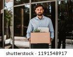 waist up portrait of sorrowful... | Shutterstock . vector #1191548917