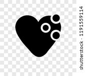 heart vector icon isolated on...
